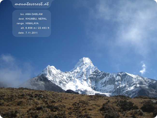 www.mounteverest.at: Ama Dablam