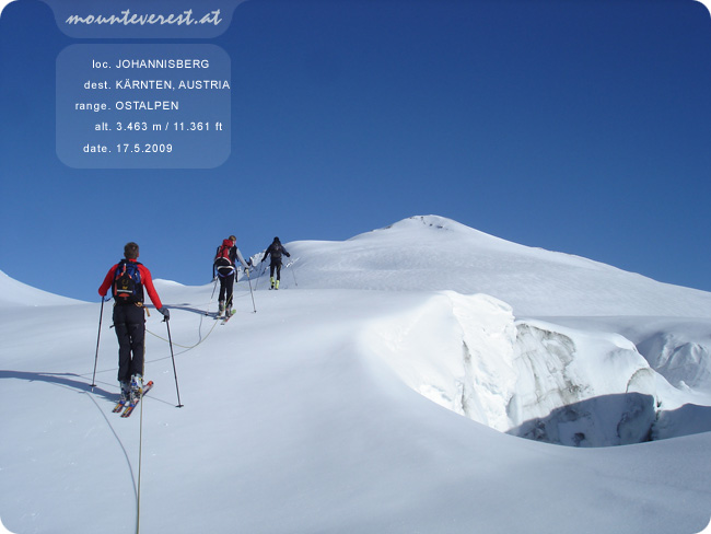www.mounteverest.at: Johannisberg