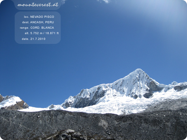 www.mounteverest.at: Nevado Pisco