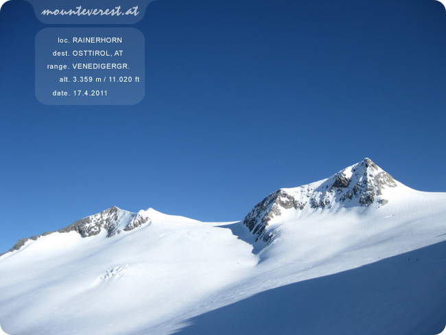 www.mounteverest.at: Rainerhorn