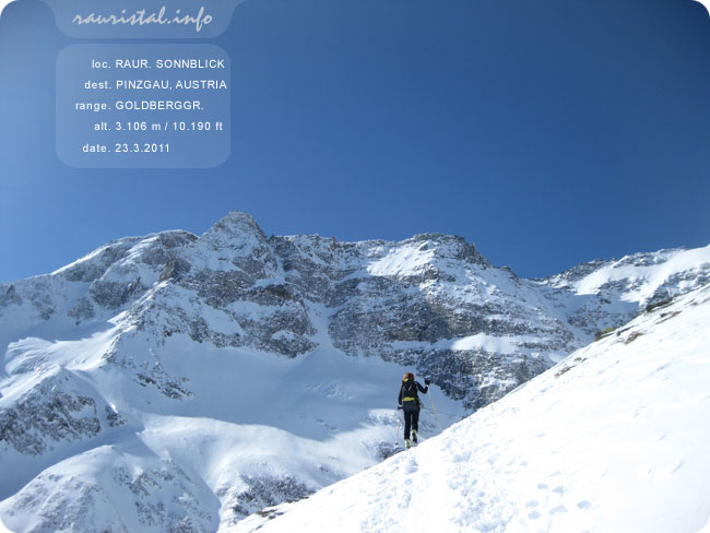 www.mounteverest.at: Rauriser Sonnblick