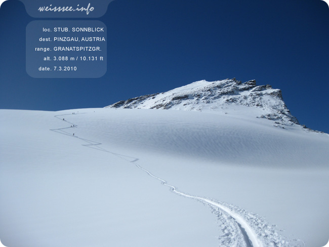 www.mounteverest.at: Stubacher Sonnblick